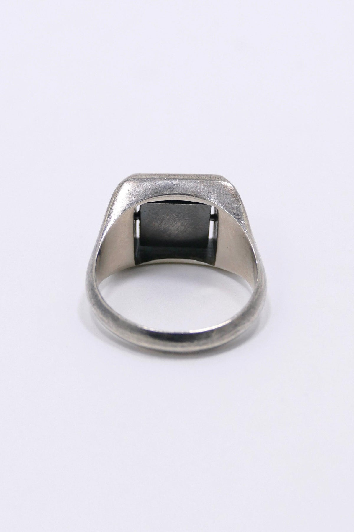 M. Cohen Square Spinning Ring Silver