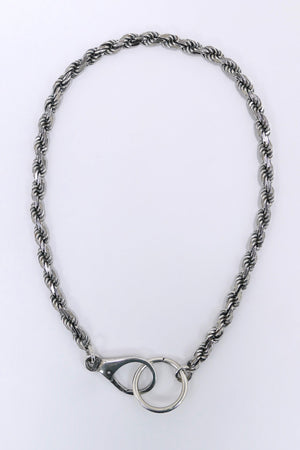 Emanuele Bicocchi Rope Chain Sterling Silver