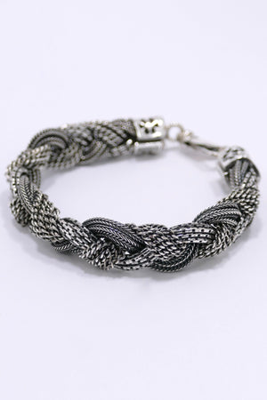 Emanuele Bicocchi Alternating Bracelet Silver
