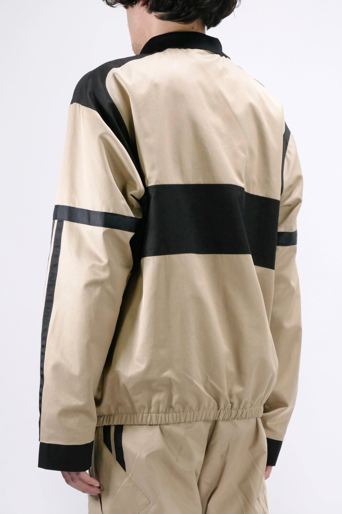 Astrid Andersen Embroidered Track Jacket Beige
