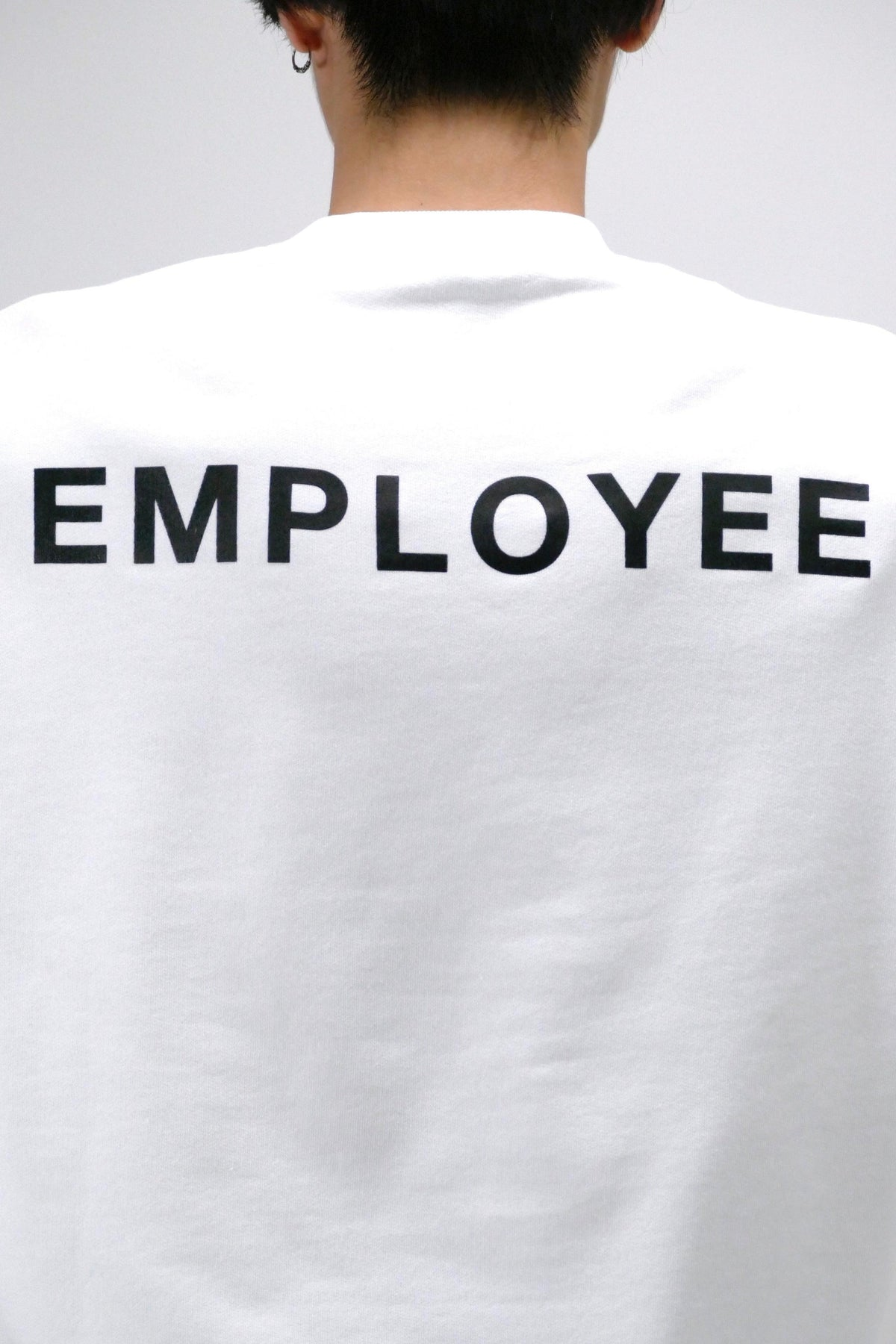 Ih Nom Uh Nit Employee Graphic Crewneck White