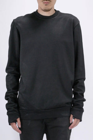 11 by Boris Bidjan Saberi CR1C Crewneck Black