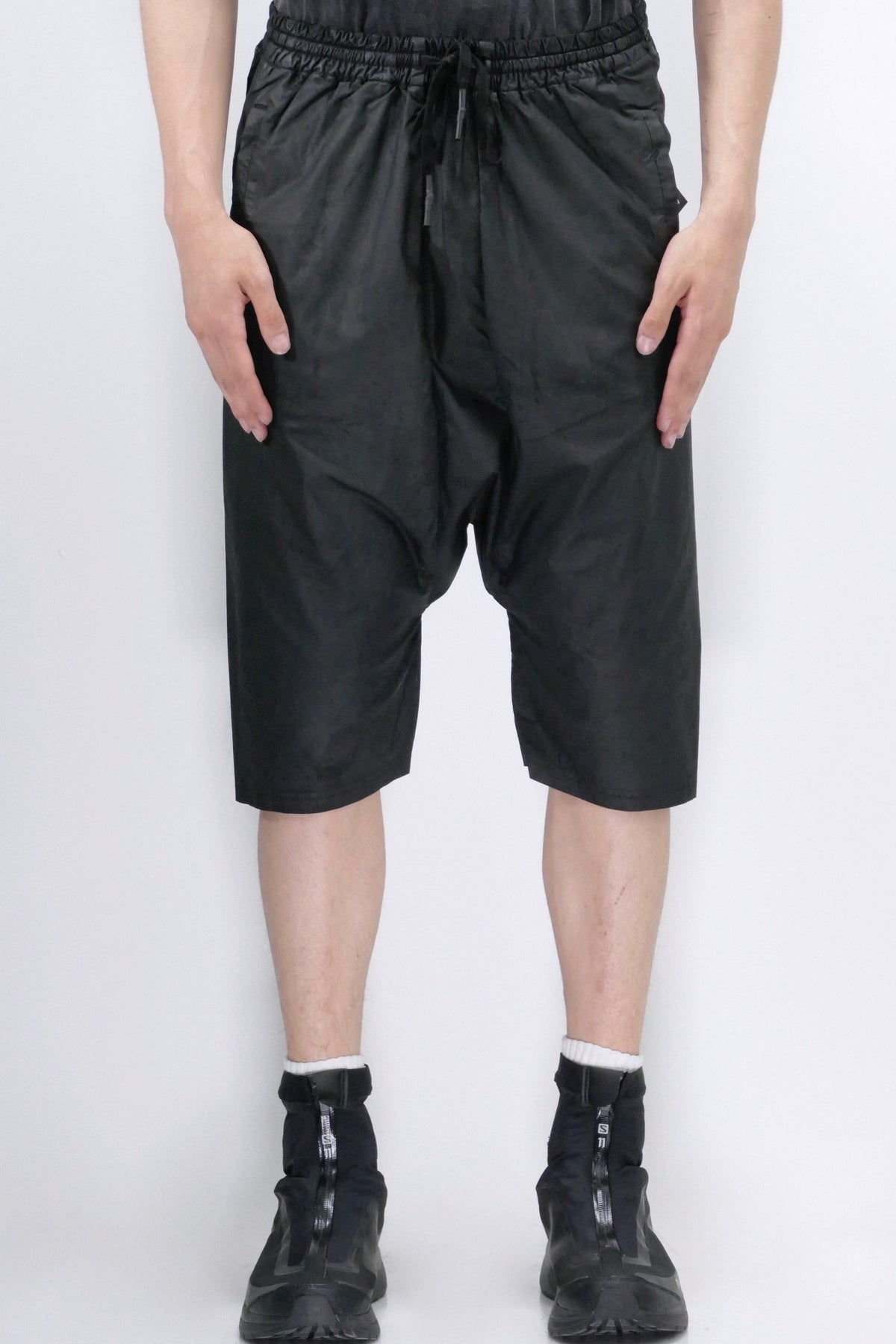 11 By Boris Bidjan Saberi P30 Coated Shorts Black