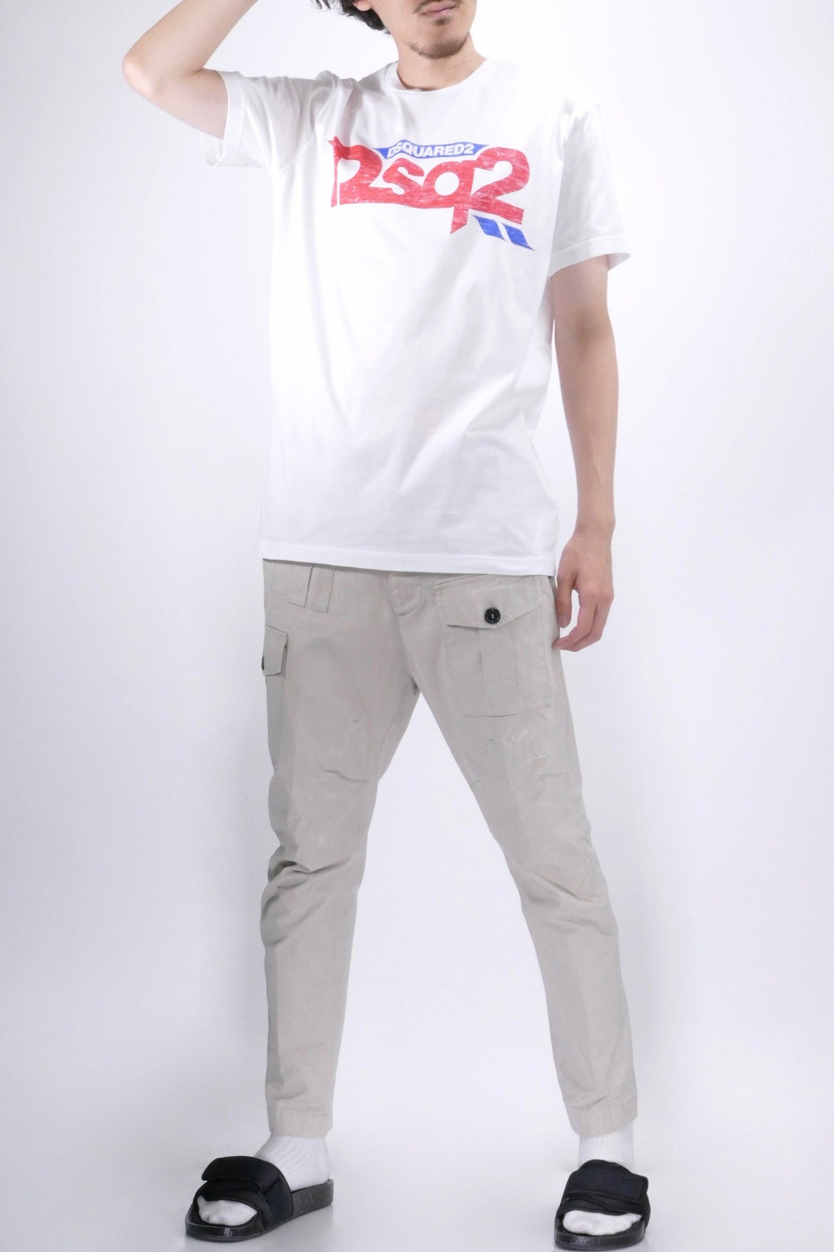 DSquared2 D2SQ2 Tee White