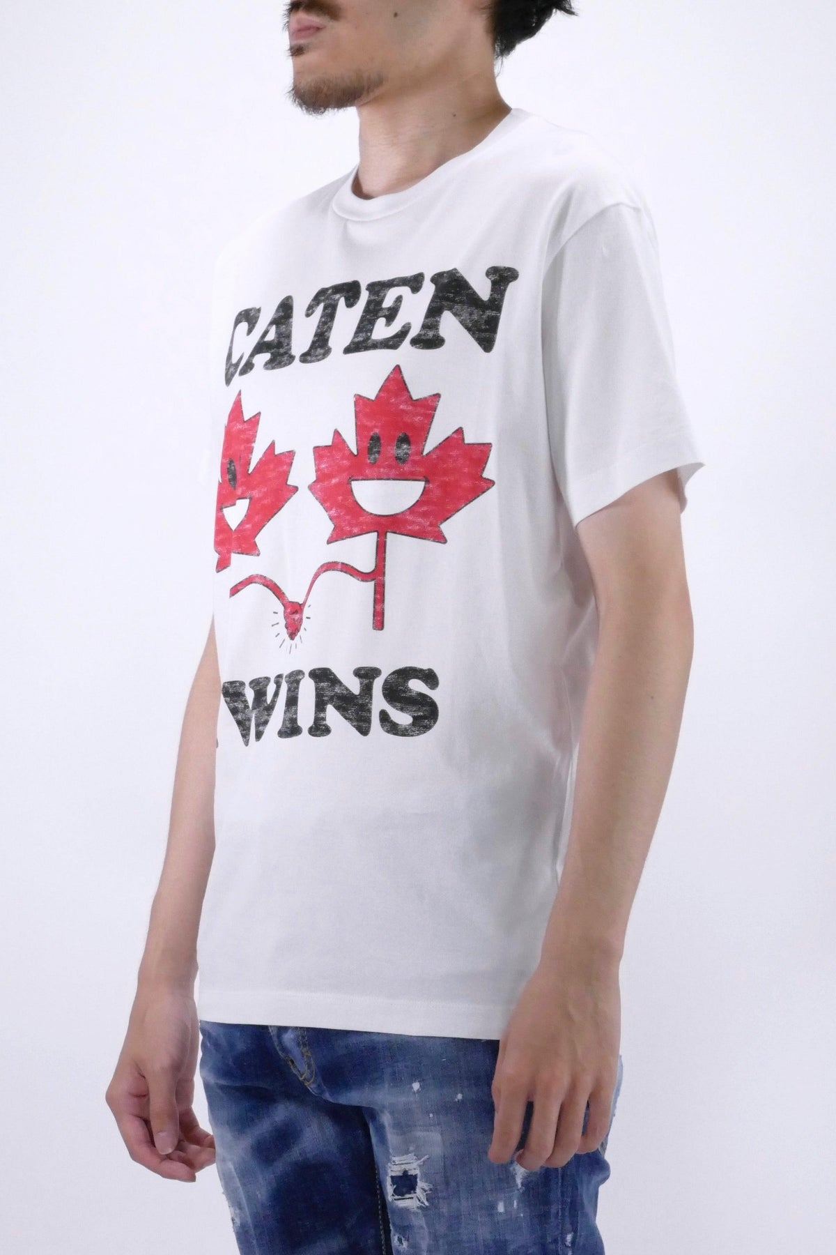 DSquared2 Caten Twins Tee White
