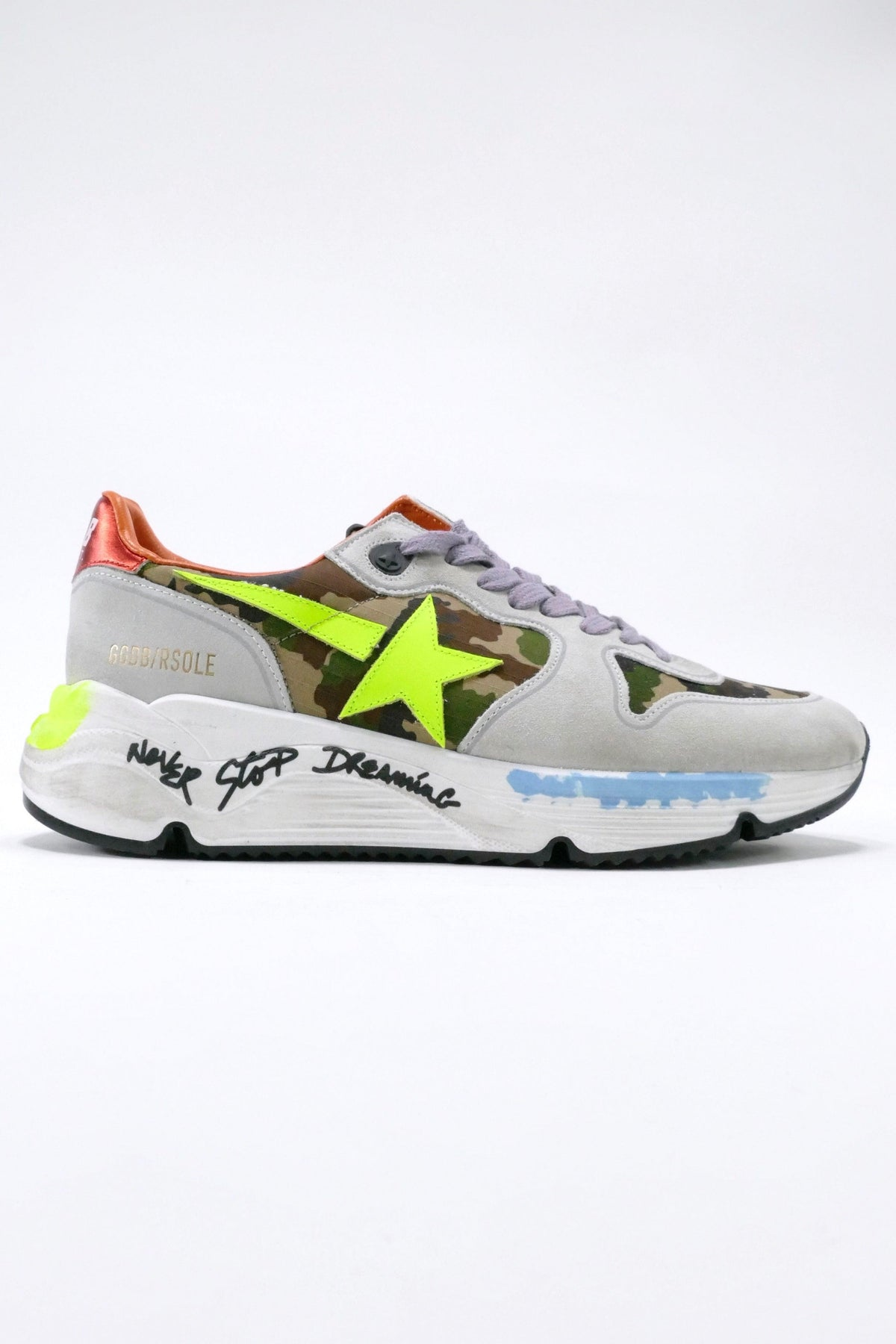 Golden Goose Deluxe Brand Running Shoes Camouflage