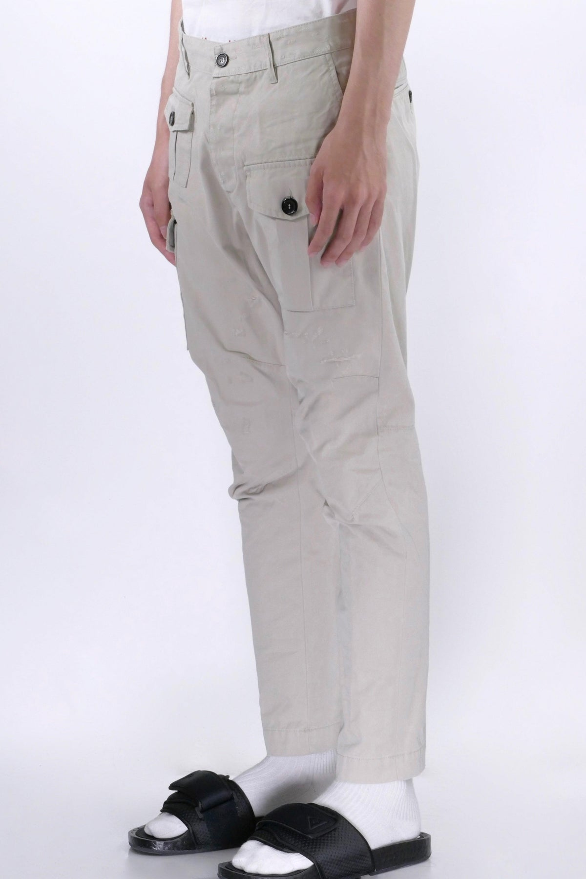 DSquared2 Cargo Pants Stone