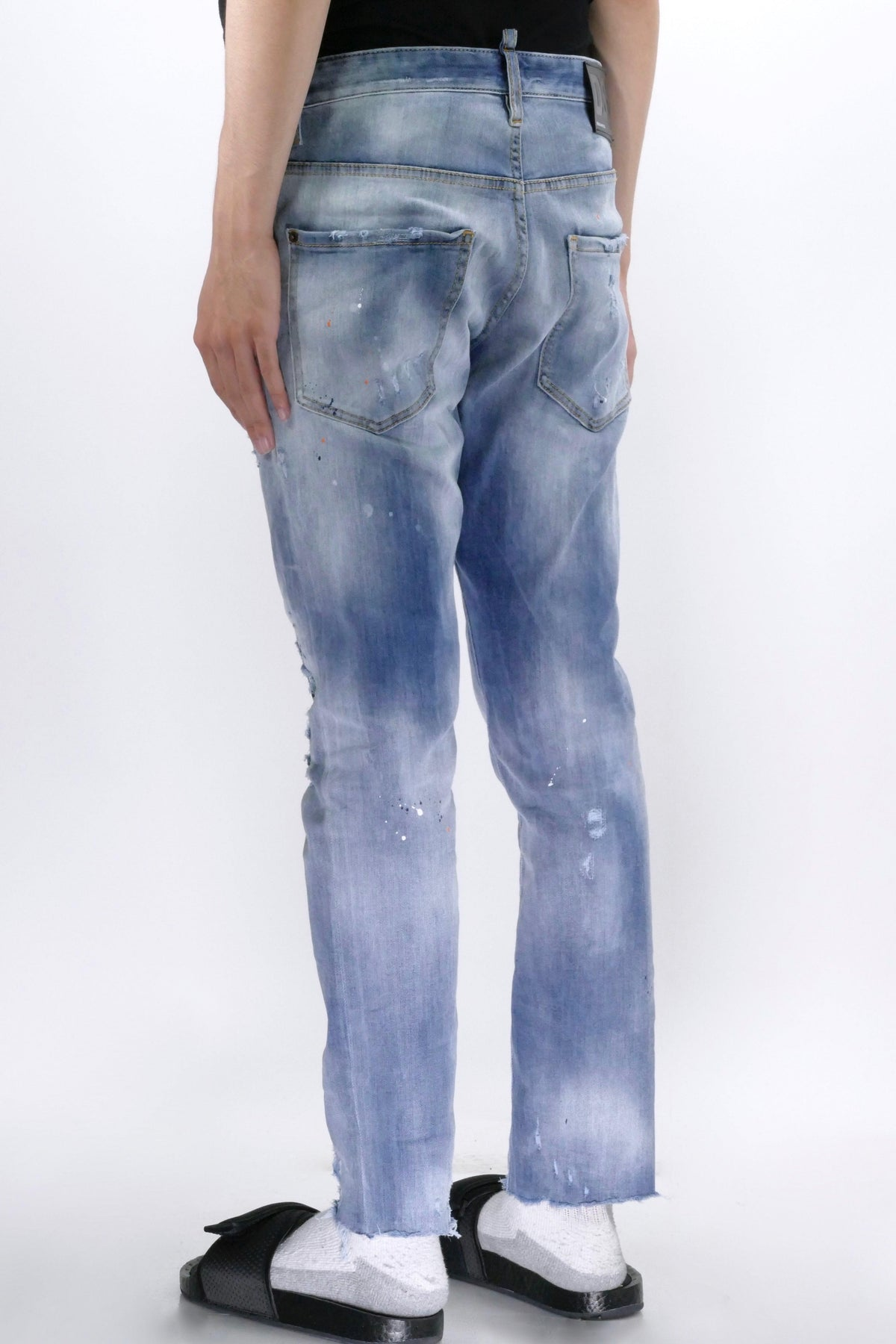 DSquared2 Skater Skinny Jeans Light Blue
