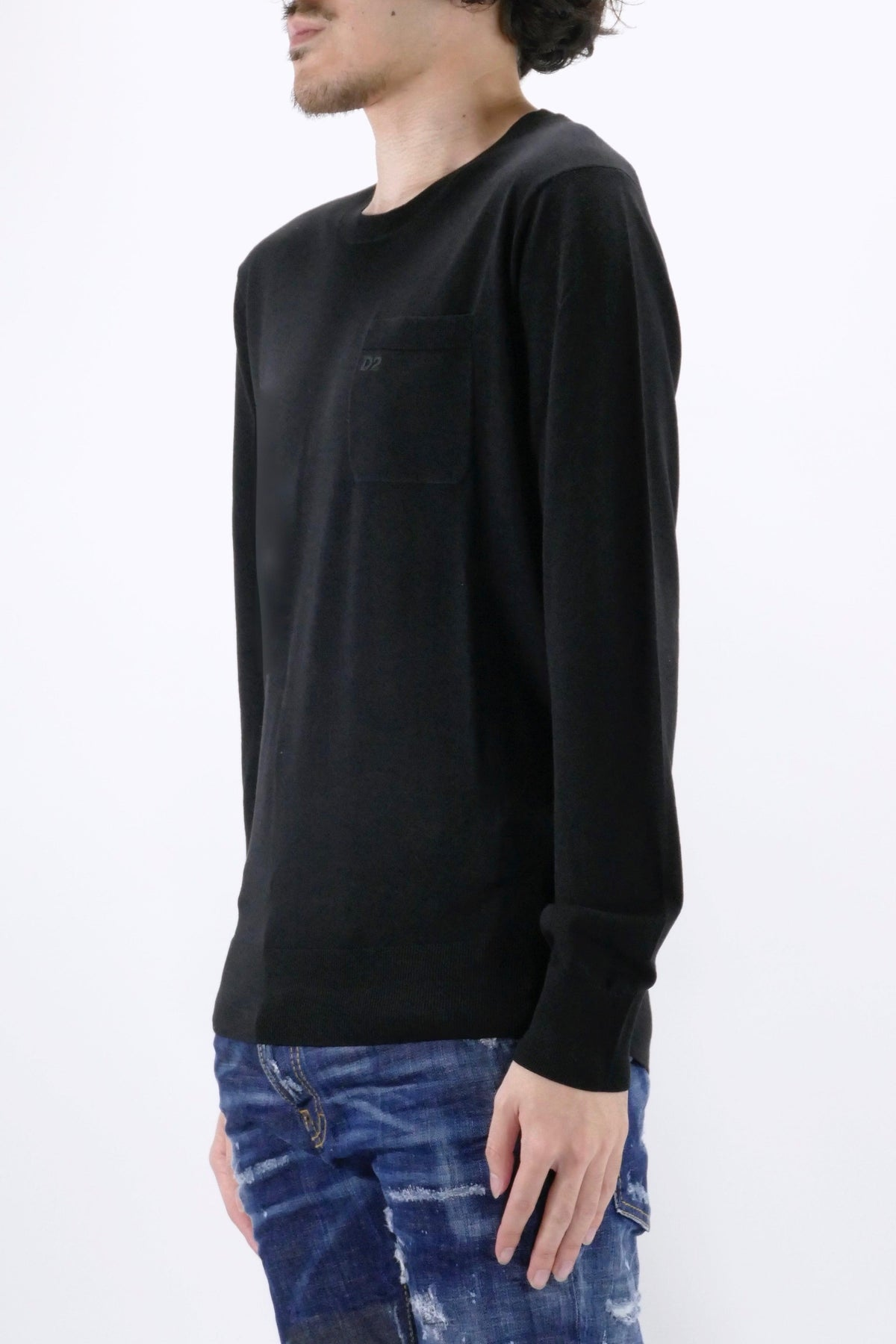 DSquared2 Pocket Sweater Black