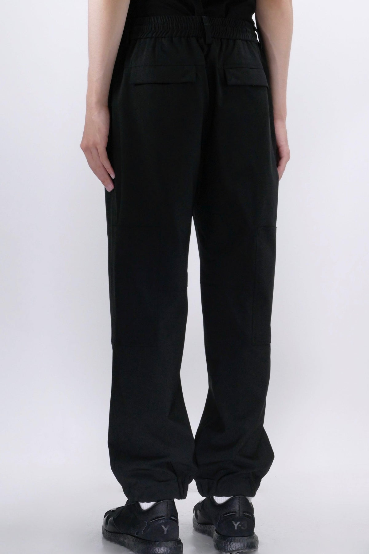 Juun.J Drawstring Pants Black