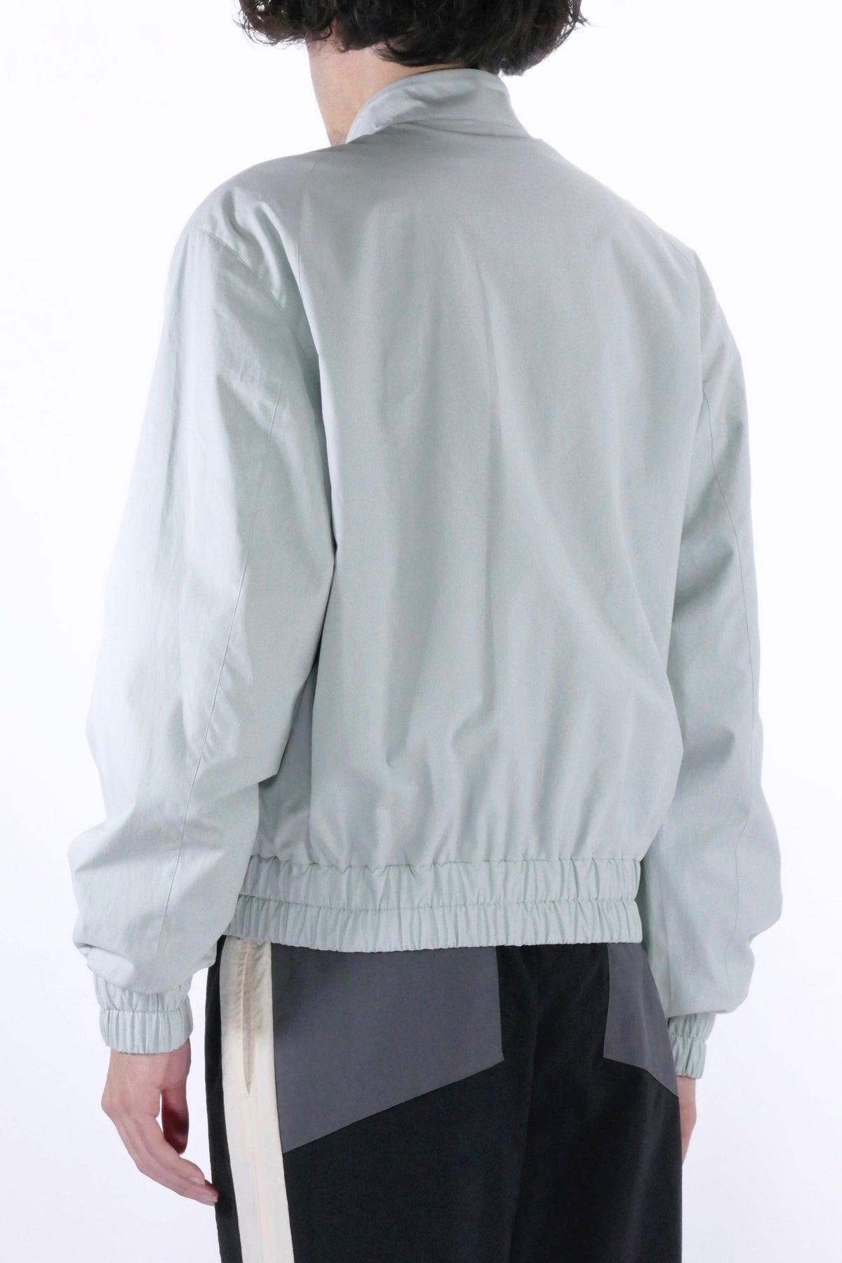 Kenzo Zipped Bomber Jacket Grey Green