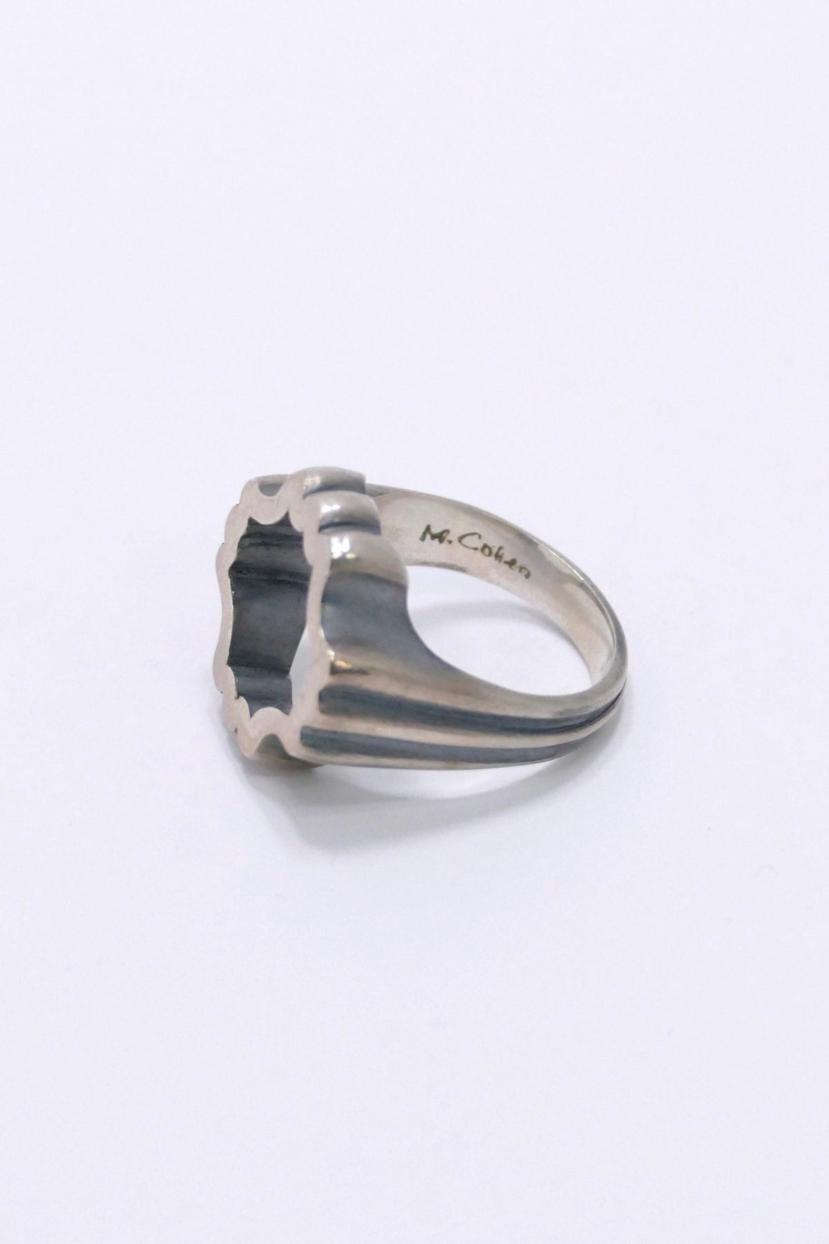 M. Cohen The Paragon Ring Silver