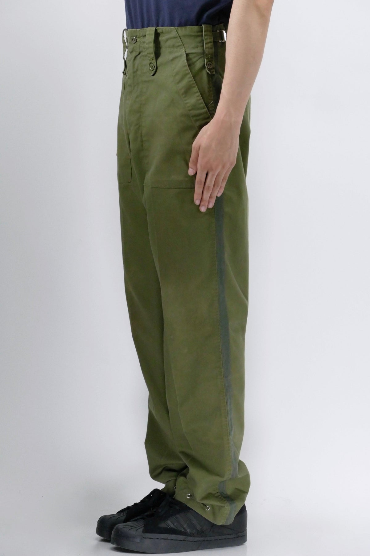 Myar British Fatigue Military Pants Green
