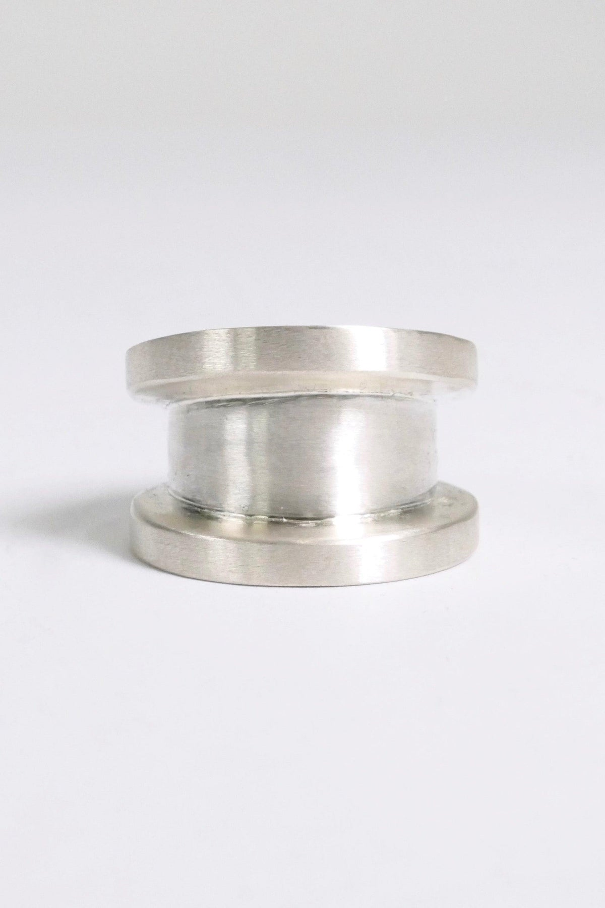 Parts of Four Ring Wide Chasm V2 Matte Sterling