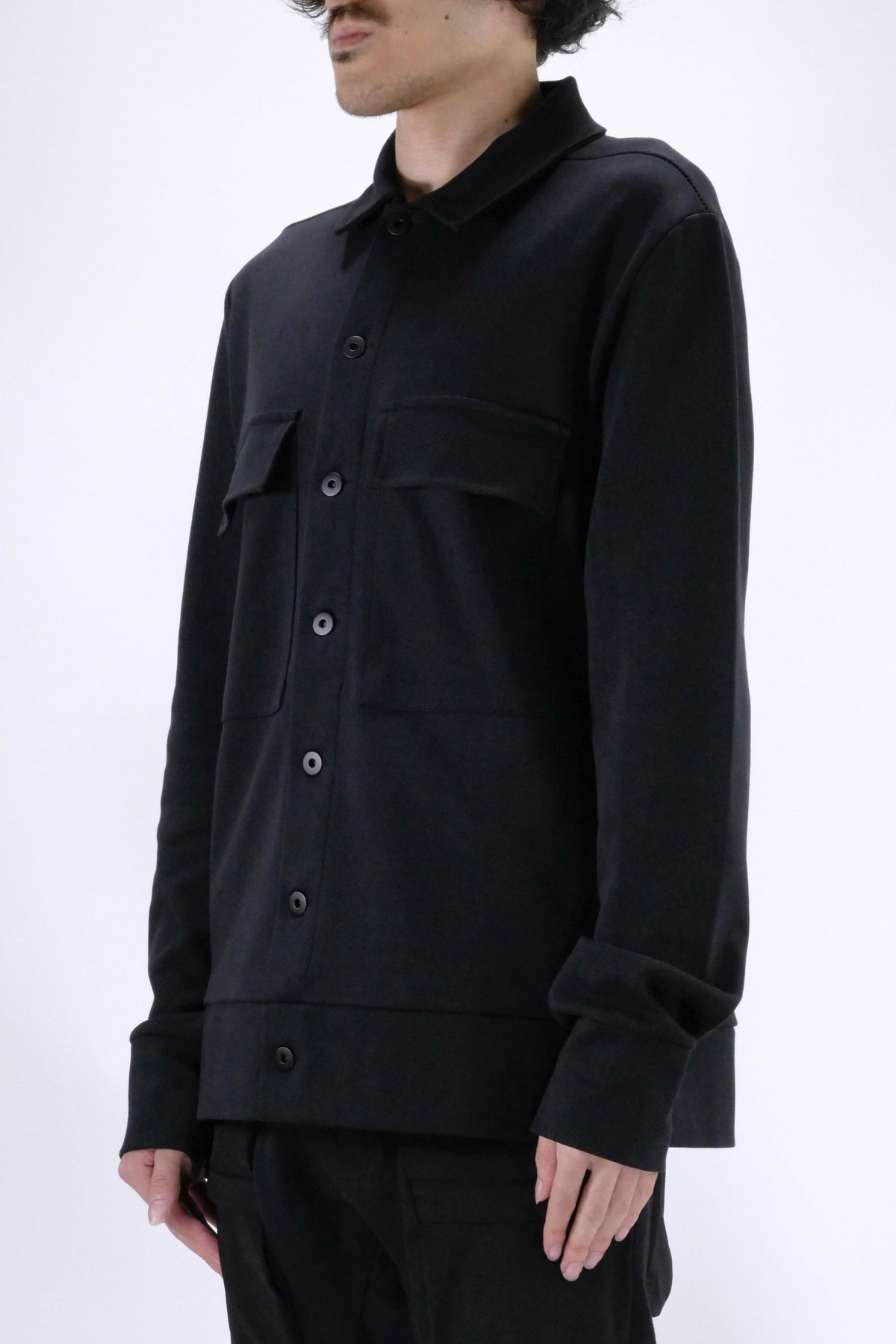 Thom Krom Overshirt Black