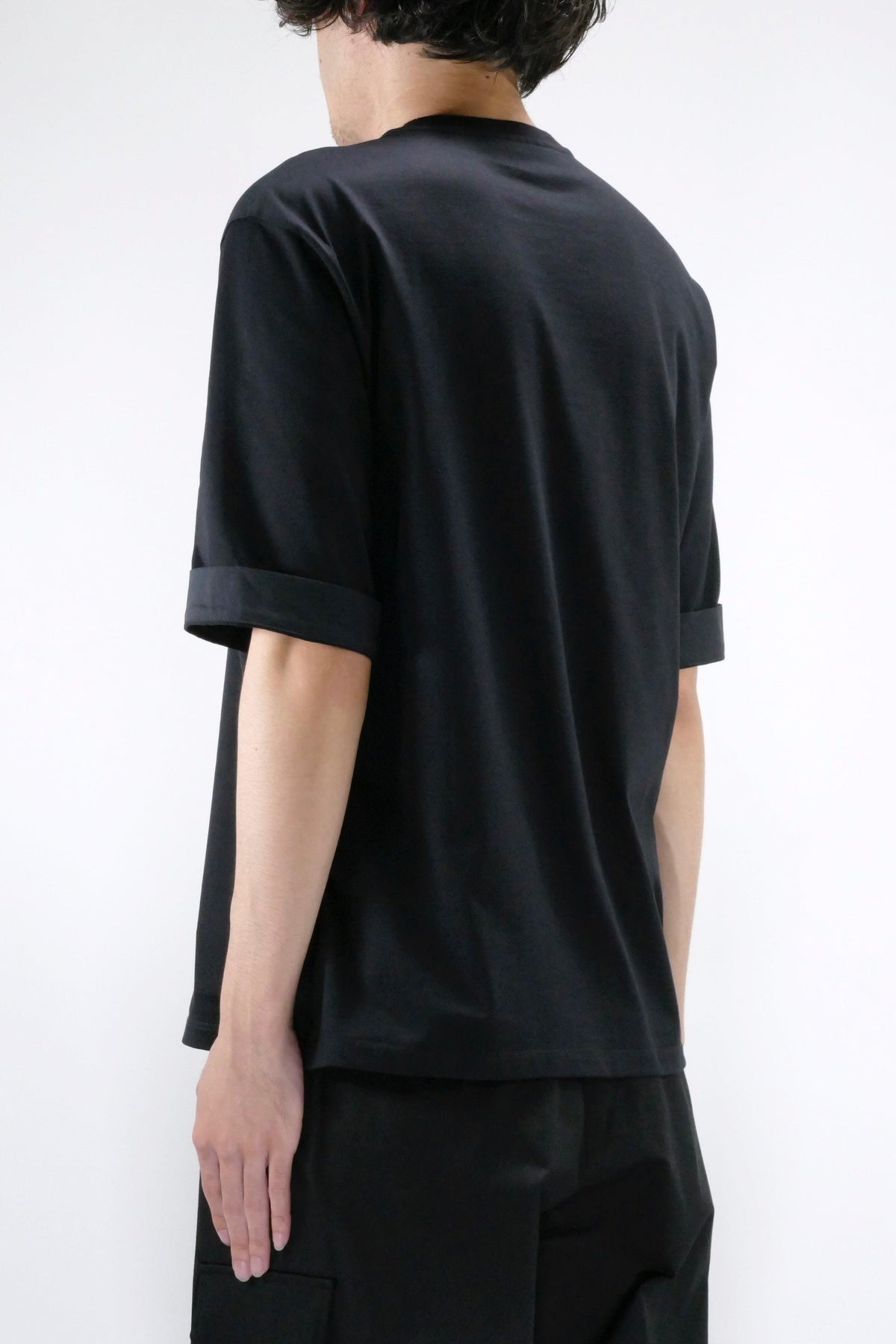 Neil Barrett Flaming Star Tee Black