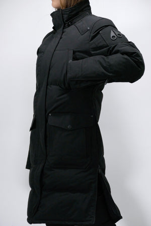 Moose Knuckles Womens *Parka Causapcal Parka Black/Frost