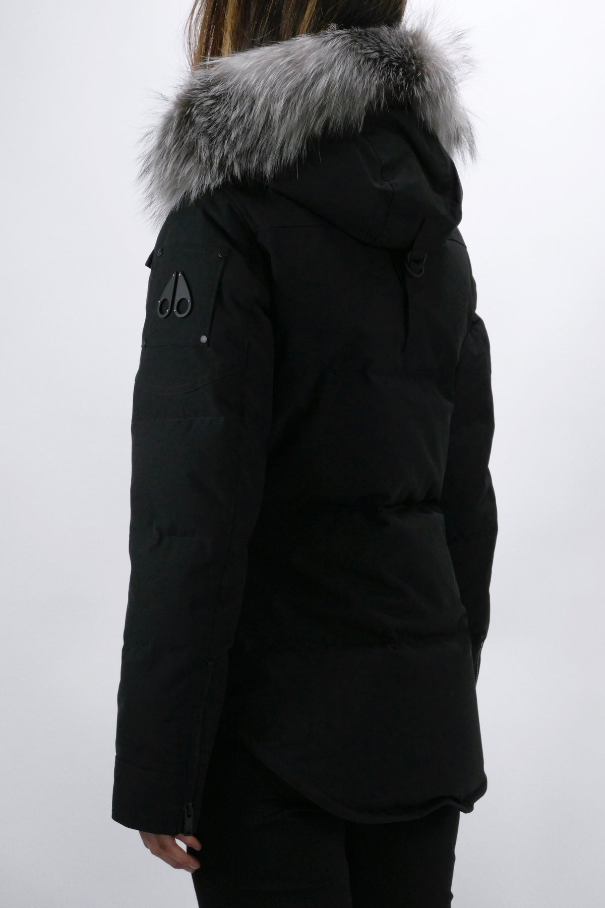 Moose Knuckles Womens *Parka Anguille Black/Frost