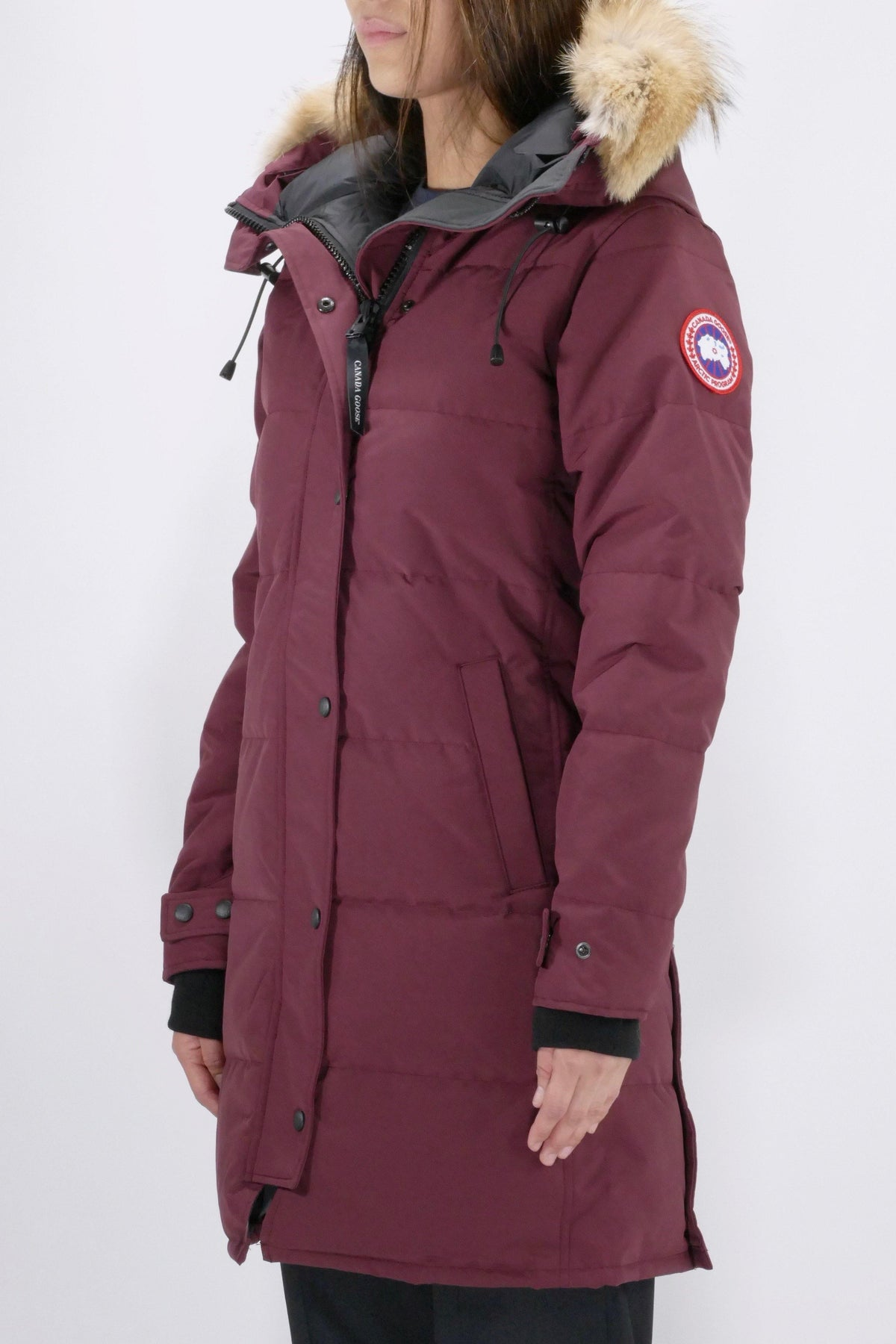 Canada Goose Womens Parka Shelburne - Elderberry