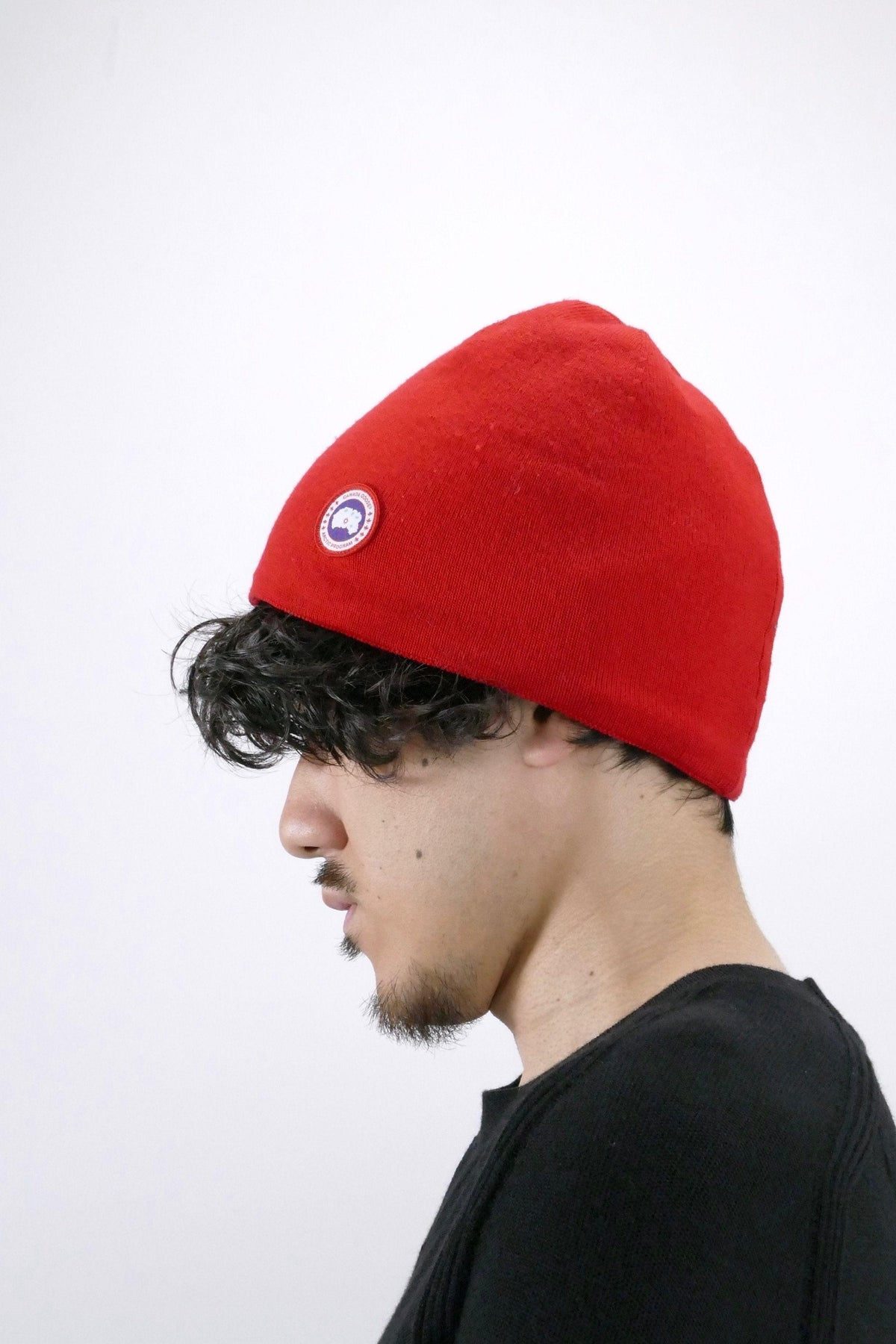 Canada Goose Mens Winter Accessories - Standard Toque - Red
