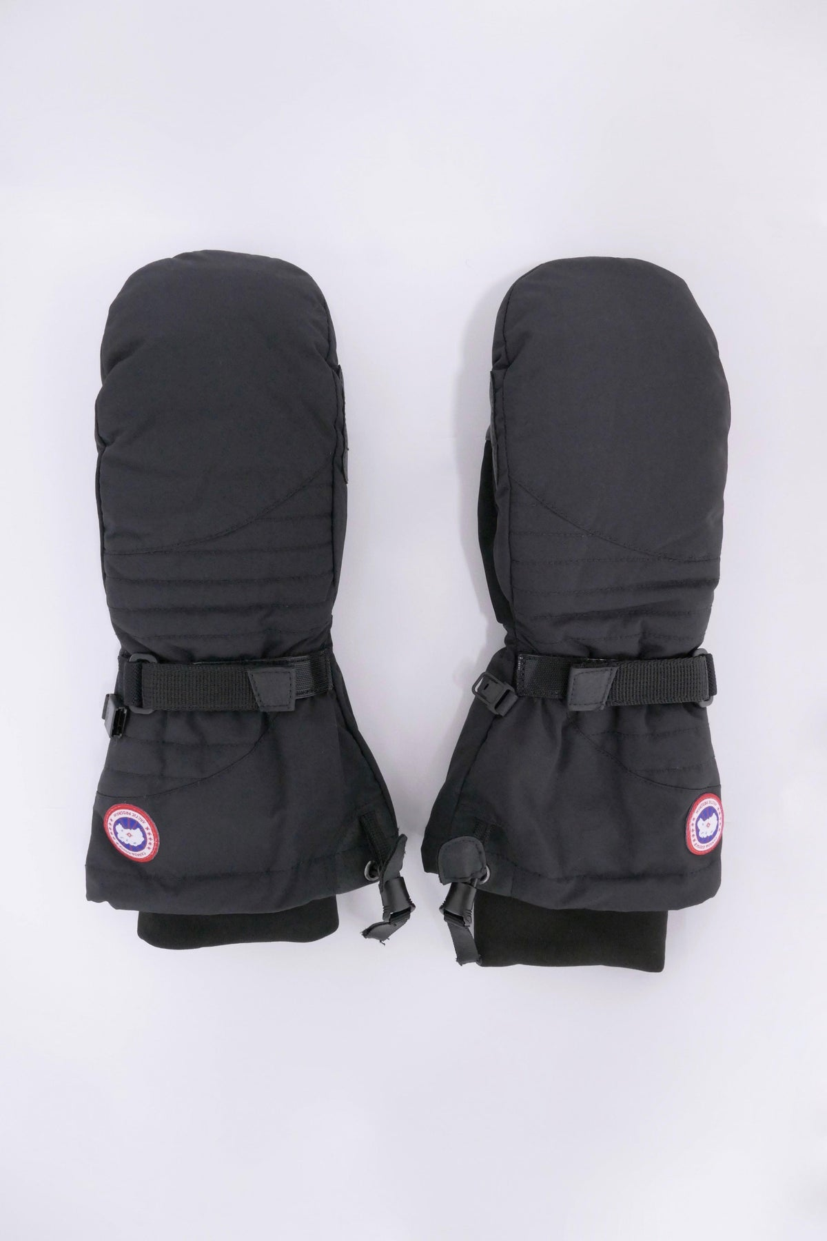 Canada Goose Womens Winter Accessories Down Mitts Black