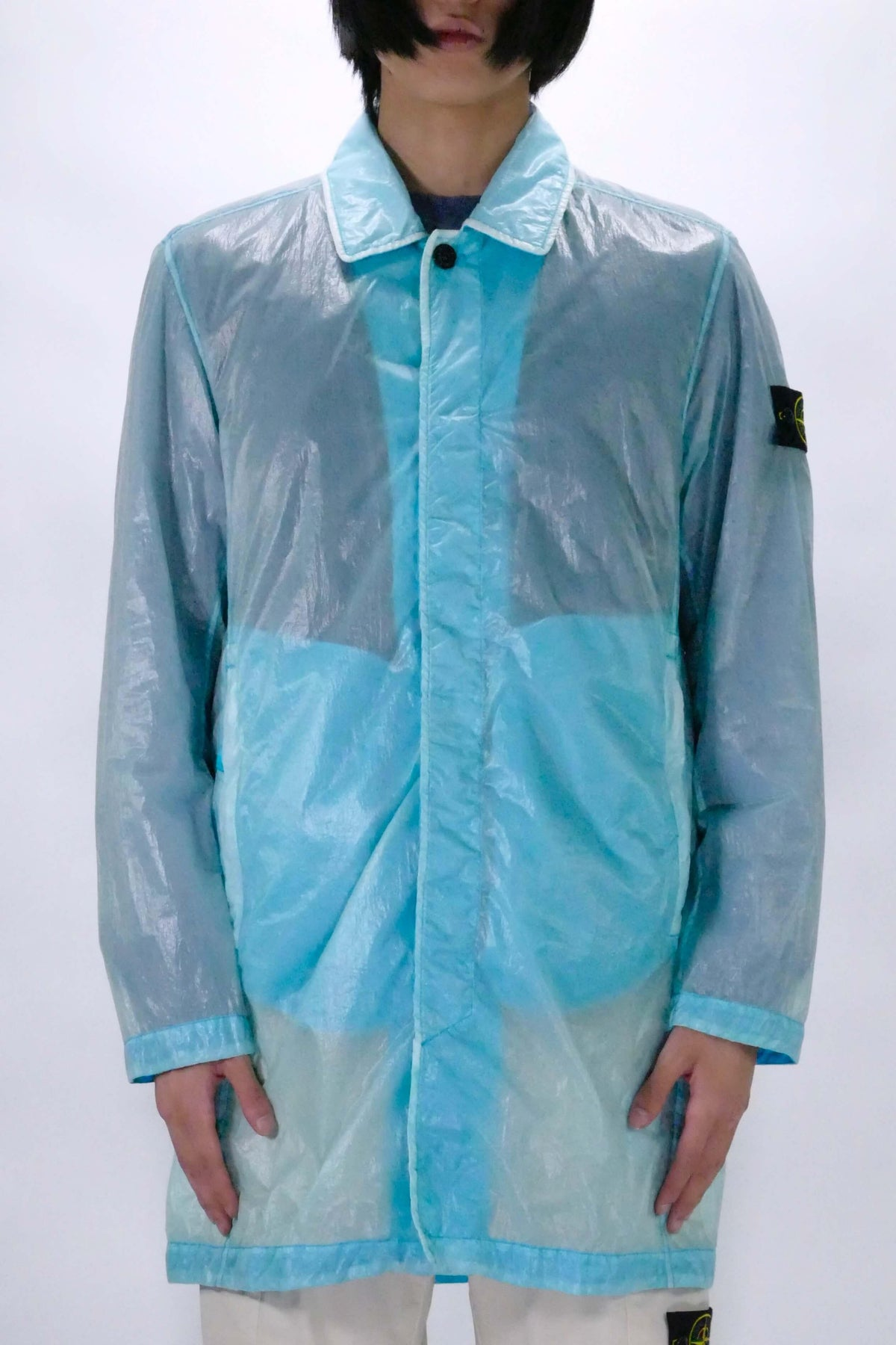 Stone Island 70534 Lucido-TC_Packable Jacket - TURQUOISE