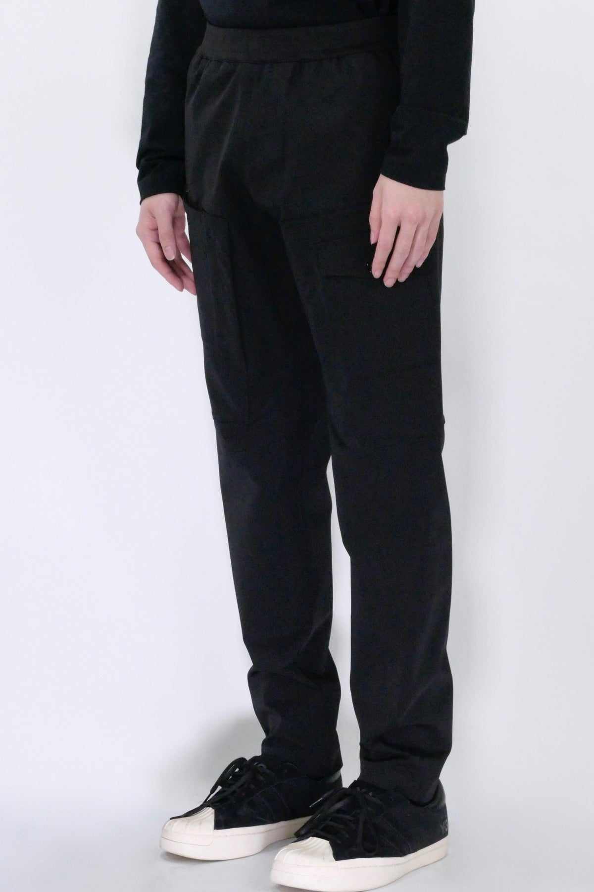 Stone Island 312X4 Marina Two-Way Stretch Recycled Cargo Pants Black