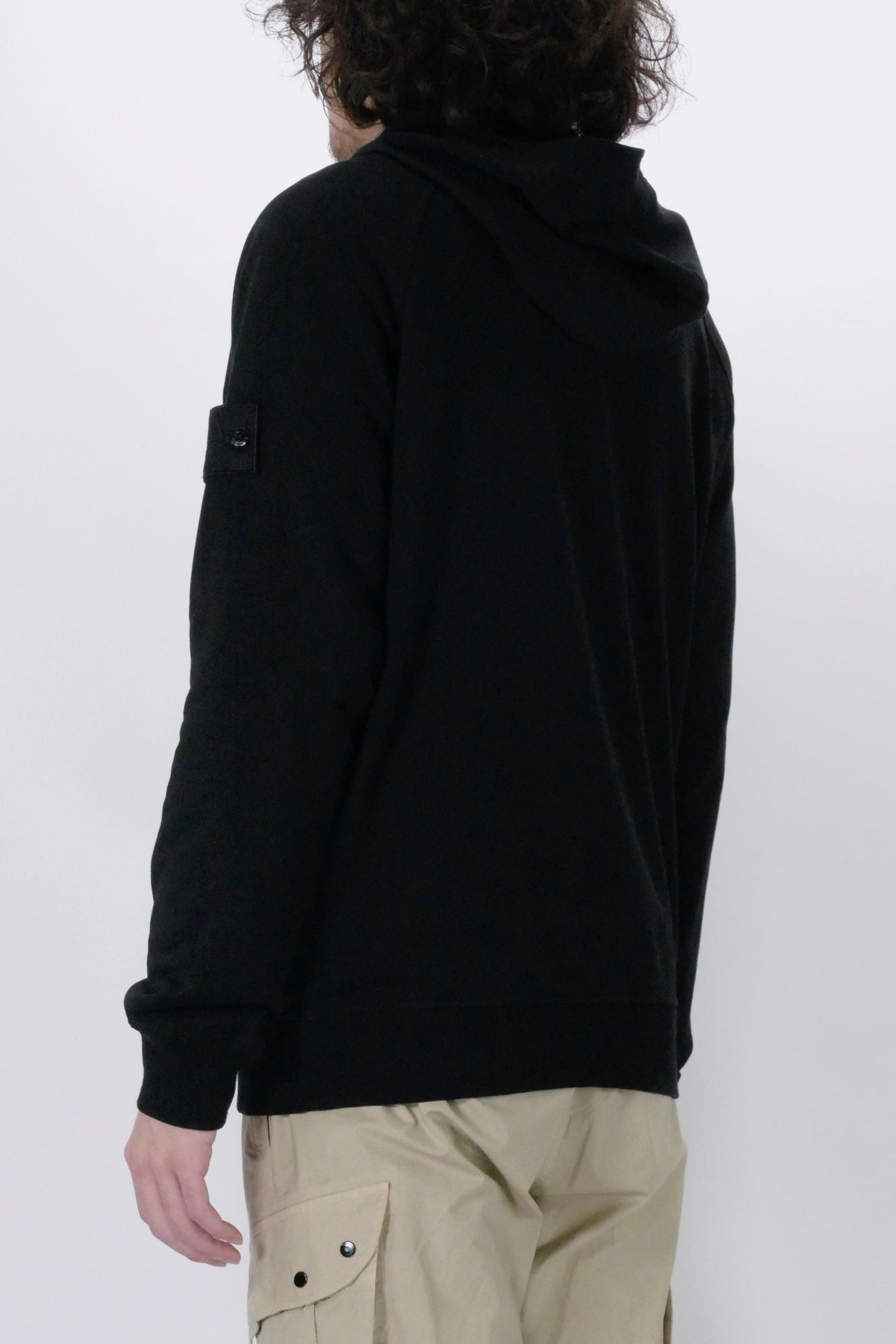 Stone Island Ghost Piece 653F3 Hoodie Black