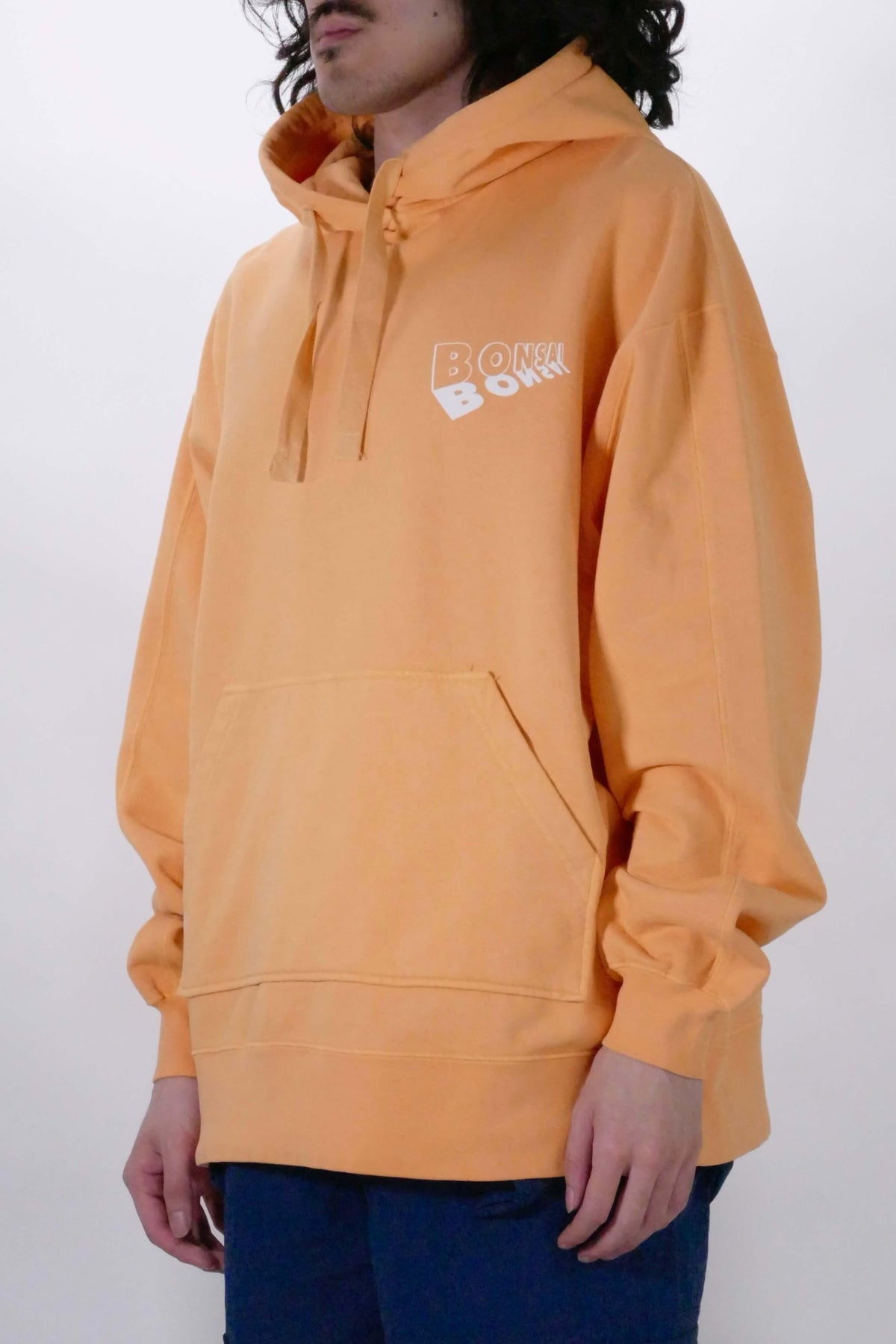 Bonsai Graphic Hoodie - Orange