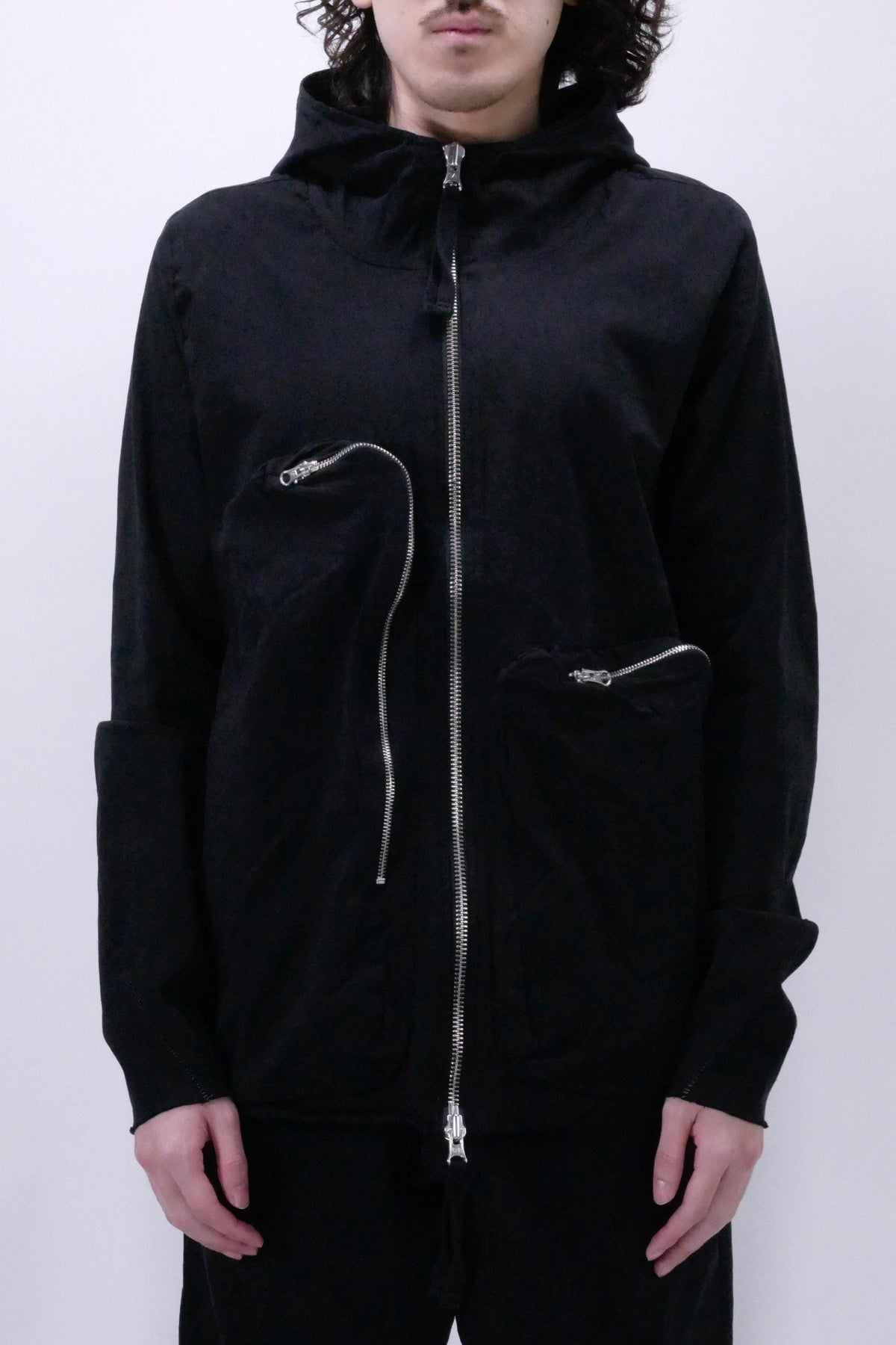Thom/Krom M SJ 447 Hooded Jacket - Black