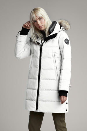 Canada Goose Womens Parka Kenton Black Label Snowcap