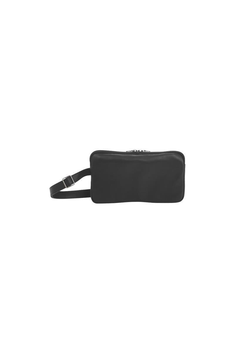 Isaac Reina Single Pouch With Belt Black