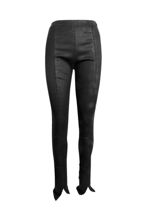 Masnada Womens Resin Pants Black