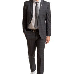 NICK GRAHAM SUIT 021 GREY thumbnail 2