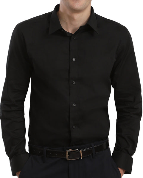 SOLID DRESS SHIRT | SLIM FIT