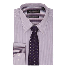 STRETCH SHIRT AND TIE SET thumbnail 12