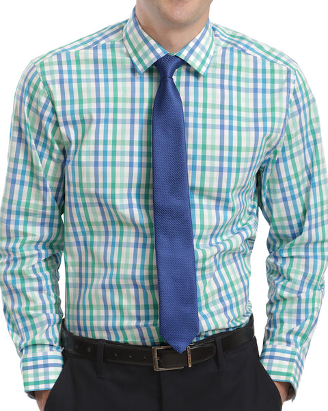 STRETCH SHIRT WITH TIE SET