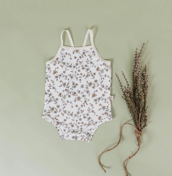 Bamboo Body Suit - Secret Garden