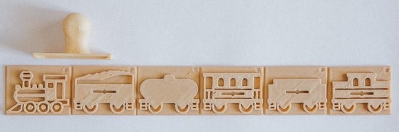 Eco Stamp - Train Set