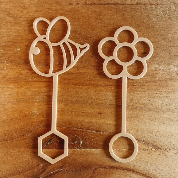 Kinfolk Pantry Eco Flower Bubble Wand