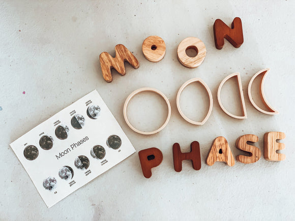Kinfolk Pantry - Moon Phase Mini Eco Cutter Set