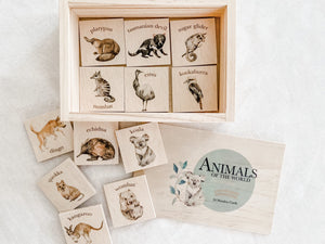Wooden Australia Memory Game 'Volume 3'