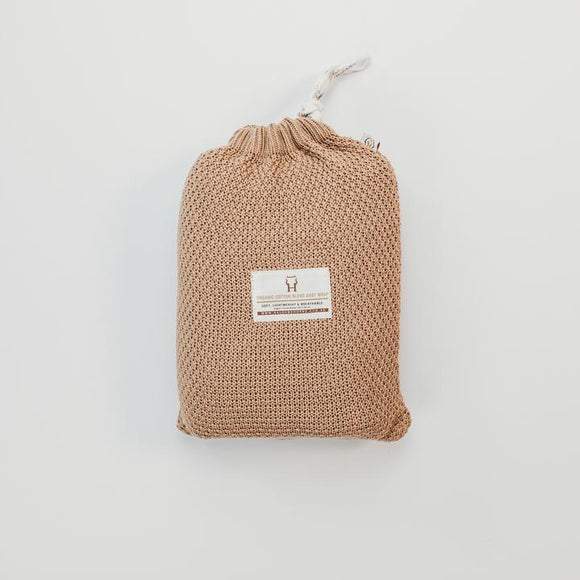 Baby Heritage Blanket - Organic Cotton - Sirocco