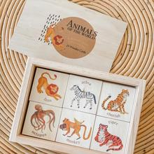 Wooden Animals Memory Game 'Volume 1'
