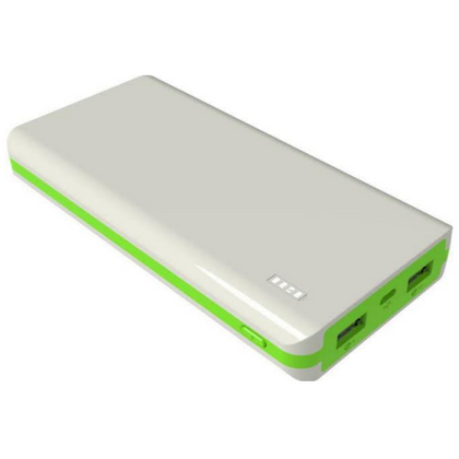 Syska Power Juice 20000 mAh Power Bank White & Green - E MIRA ROAD