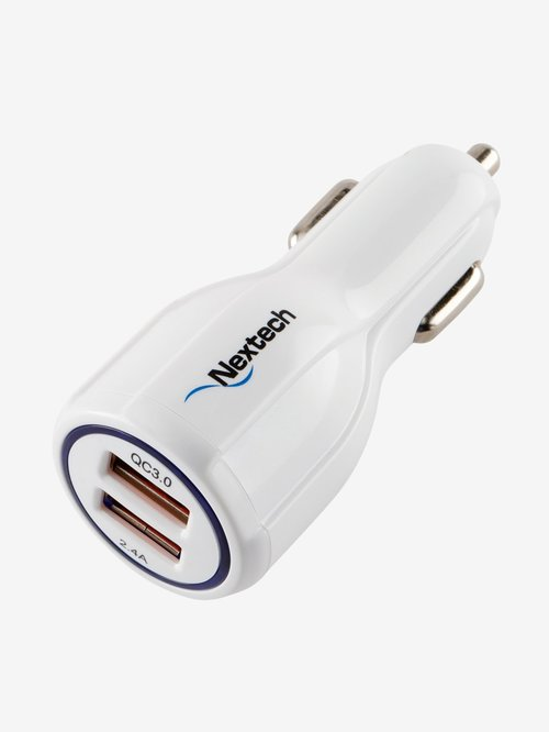 Nextech 3.0 Dual USB Car Charger NCQ16 - E MIRA ROAD