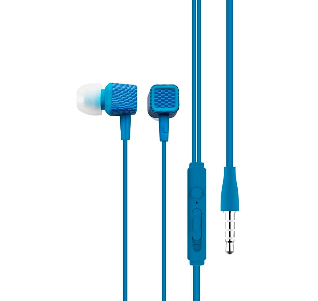 Portronics Conch 206 in-Ear Wired Earphone with 3.5mm Audio Jack and Mic - E MIRA ROAD