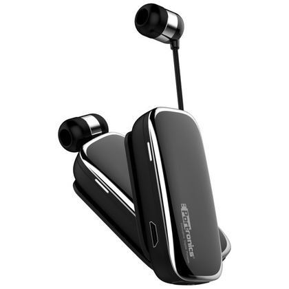 Portronics POR-205 Harmonics Klip III a Clip-On Retractable Bluetooth Headset with Mic for Hands-Free Calling - E MIRA ROAD