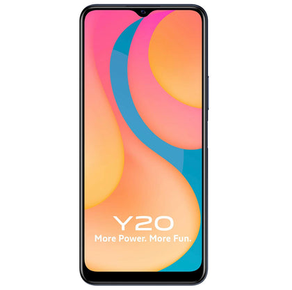 Vivo Y20 (Obsidian Black, 4GB RAM, 64GB Storage)