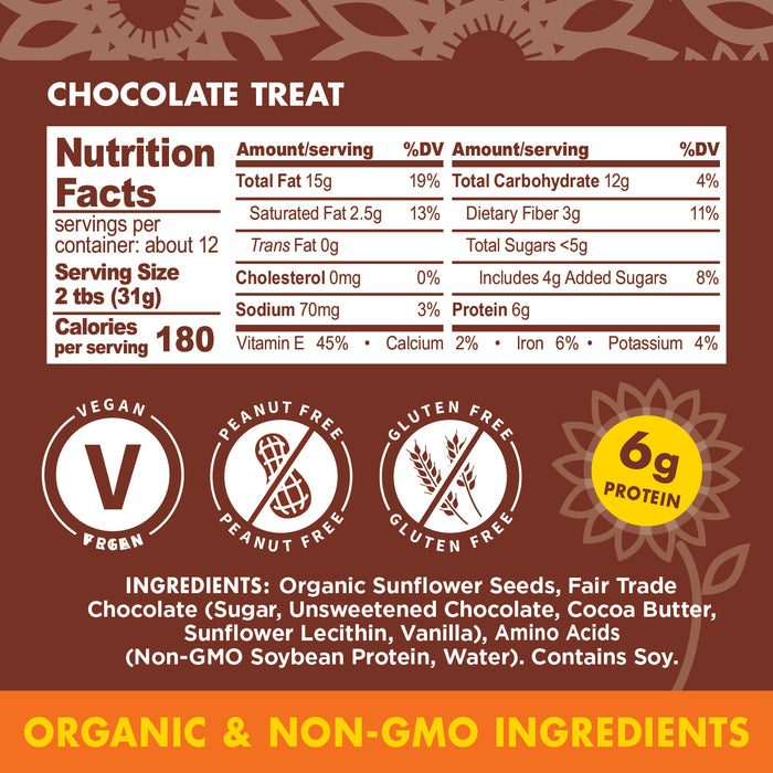 Much Better Butter™ Chocolate Treat Nutritional Facts